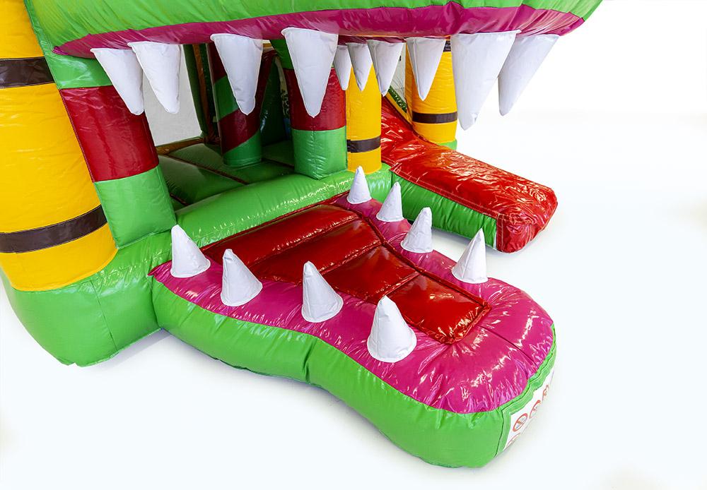 location chateau gonflable crocodile roche sur foron
